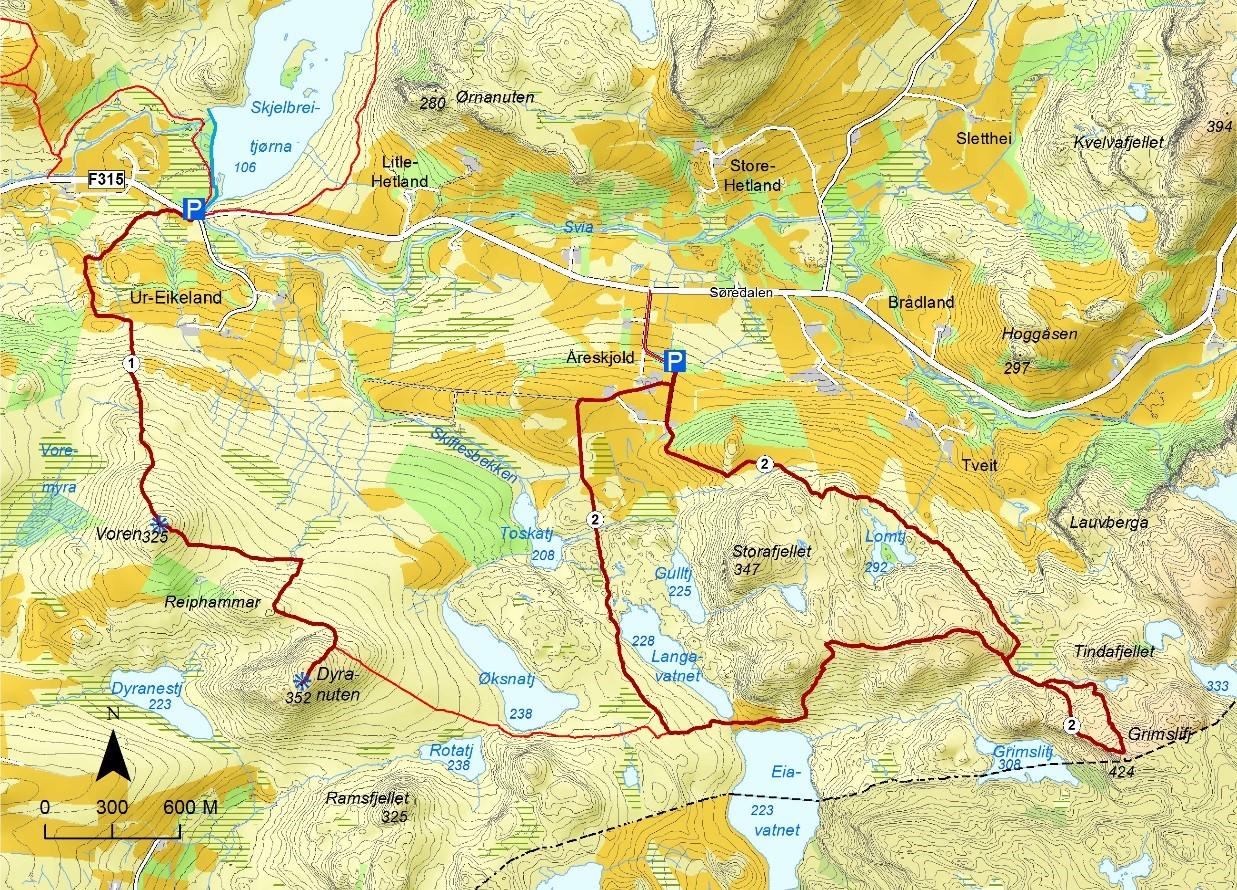 kart sandnes Sandnes kommune   Turmuligheter kart sandnes